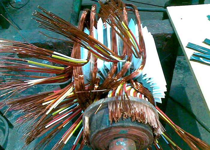 Reparación de Motores corriente continua
